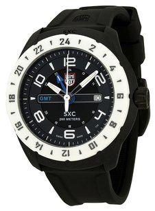 Luminox Luminox 5027 Watch SXC Space Mens - Black Dial Carbon Case Swiss Quartz Movement
