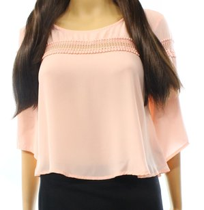 Lush 100% Polyester Batwing Top