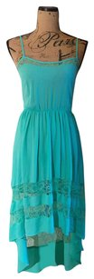Lush short dress Tiffany blue on Tradesy