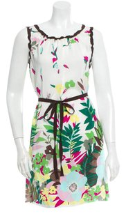 M Missoni short dress MULTI M Silk Floral Perfect Condition on Tradesy