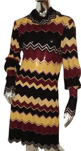 M Missoni short dress multi color Wool on Tradesy