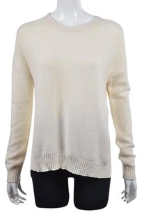 Madewell Womens Crew Neck Cotton Long Sleeve Sweater