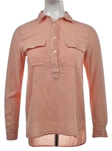 Madewell Womens Peach Top Pink