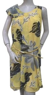 Madison Paige short dress Yellow Black on Tradesy