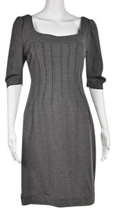 Maggy London Womens Speckled Knee Length Casual Sheath Dress