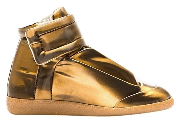 Maison Margiela Copper (Marble) Gold High Top 22 Sneakers Size US 7 Regular (M, B)