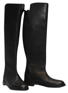 Maison Margiela Knee High Black Boots