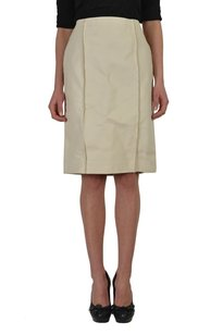 Maison Margiela Straight Skirt White