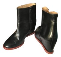 Maison Margiela Wedge Mm6 Maison Black and red Boots