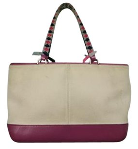 Malo Womens Satchel in Creme