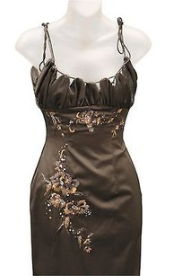 Mandalay Embroideredsequined Spaghetti Strap Sheath 170064jr Dress