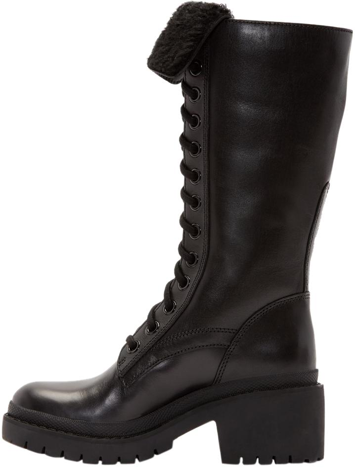 Marc by Marc Jacobs Black Leigh Combat Boot IFV686986