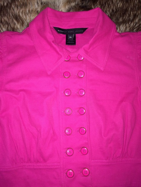 Marc by Marc Jacobs Button Down Shirt Pink