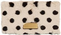 Marc by Marc Jacobs Too Hot White / Black Clutch