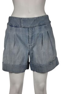 Marc by Marc Jacobs Womens Denim Casual Pants Shorts Blue