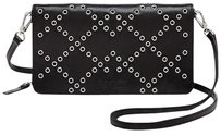 Marc by Marc Jacobs Leather Silver Clutch Cross Body Bag
