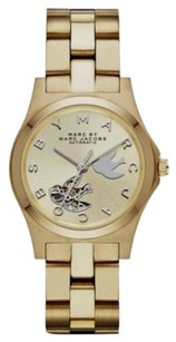 Marc by Marc Jacobs MBM9712 Henry Midsized Icon Automatic Dove Dial Watch