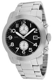 Marc by Marc Jacobs Marc by Marc Jacobs Larry Chronograph Stainless Steel Mens Watch MBM5050