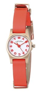 Marc by Marc Jacobs Marc Jacobs Mbm1315 Henry Dinky Rose Gold Infrared Leather Watch
