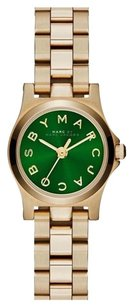 Marc by Marc Jacobs MBM3327 Marc by Marc Women's Henry Dinky Green Dial Face