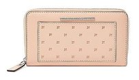 Marc by Marc Jacobs Mbmj Marc Jacobs Know When To Fold Em Perforated Seashell Zip Wallet