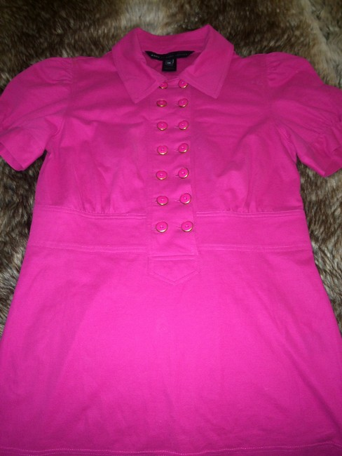 Marc by Marc Jacobs Polo Button Down Shirt Pink