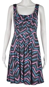 Marc by Marc Jacobs Womens Gray Printed Above Knee Sheath Dress