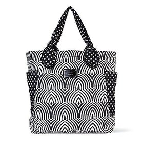Marc by Marc Jacobs Print Black Diaper Bag
