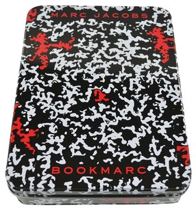 Marc by Marc Jacobs Special Edition Pencil Tin Cosmetic Case Red Black White