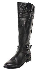 Marc Fisher Womens Leather black Boots