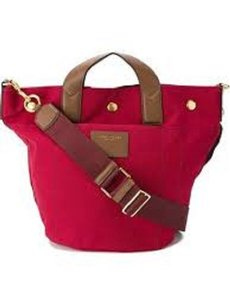 Marc Jacobs Recruit Tote in red
