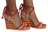 Marc Jacobs Pink Yellow Red Platforms