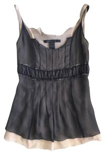 Marc Jacobs Chiffon Top Black
