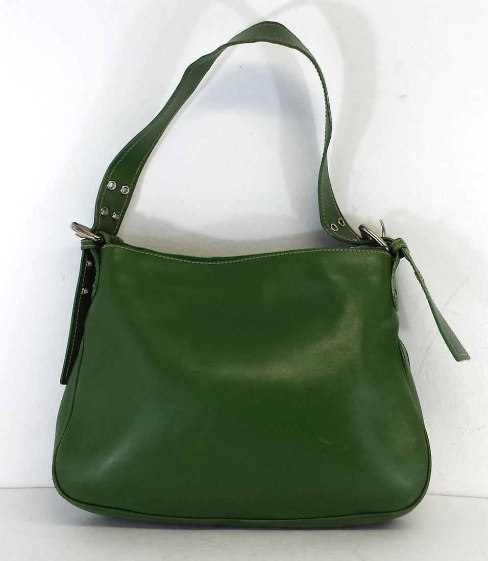 Marc Jacobs Green Leather Shoulder Bag | Shoulder Bags on Sale