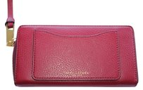 Marc Jacobs Marc Jacobs Recruit Continental Wallet Ruby Red