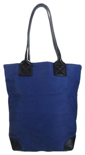Marc Jacobs Mushroom Leather Shopper Tote in Blue