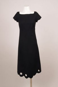 Marc Jacobs Black Wool Dress