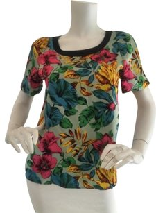 Marc Jacobs Tropical Silk Top