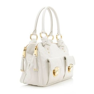 Marc Jacobs Tote in White Gold