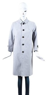 Marc Jacobs Gray Cotton Trench Coat