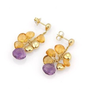 Marco Bicego Marco Bicego 18k Yellow Gold Gemstone Paradise Drop Earrings
