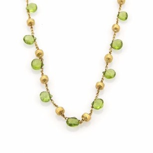 Marco Bicego Marco Bicego Paradise Peridot 18k Yellow Gold Necklace