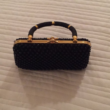 Marcus Brothers Black Clutch