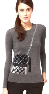 Markus Lupfer Embellished Sequined Wool Sweater
