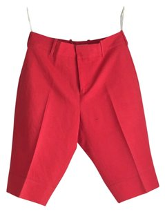 Marni Cargo Shorts red