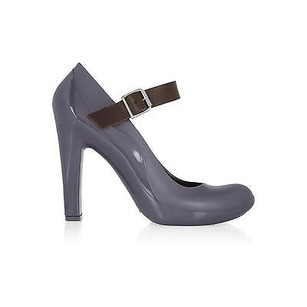 Marni Rubber Mary Night Blue Pumps