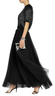 Marni Pliss Accordion Maxi Skirt Black