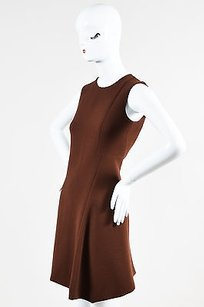 Marni short dress Brown Wool Fit Flare A on Tradesy