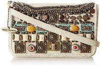 Mary Frances Pacific Evening Ivory Clutch