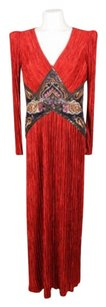 Red Maxi Dress by Mary McFadden Vintage